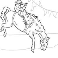 Small Picture Cowboy Coloring Pages Surfnetkids