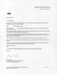 customer appreciation letter rachel ford 1