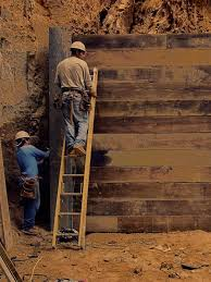 diy guide to build a wood retaining wall