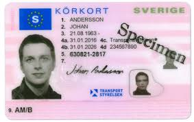 Swedes In Asia Driving License - Scandasia For More No