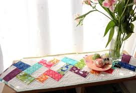 simply helixed charm pack table runner
