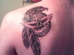 Purple Dream Catcher Tattoo Dream Catcher Tattoo On Back Shoulder 61