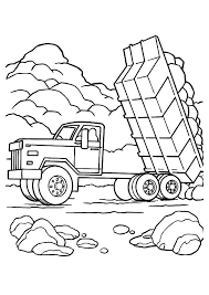 Dump Truck Coloring Pages Top Dump Truck Coloring Pages For Your