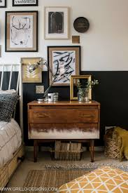 modern vintage style bedrooms. Modren Style Eclectic Modern Vintage Style Bedroom Makeover  Grillo Designs  Wwwgrillodesignscom Throughout Modern Vintage Style Bedrooms I