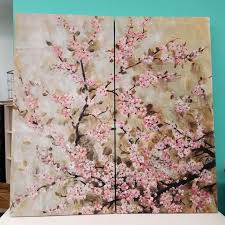 cherry blossom wall decor nadeau charlotte