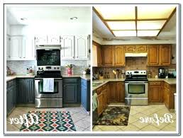 painted black kitchen cabinets before and after. Appealing Before And After Painted Kitchen Cabinets Painting  Ideas Black