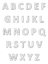Lettre Alphabet Pour Imprimer Le Coloriage Lettre Car Pictures L