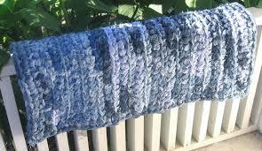 crochet denim rag rug roselawnlutheran recycled jeans crochet rag rug