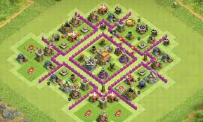 Base 7 The Best Th7 War Base As Of Today Coc Stars