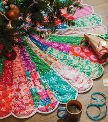 Christmas Tree Skirt Pattern Interesting Giant Dresden Christmas Tree Skirt Carrie Actually By Carrie Merrell