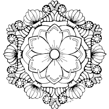 These free printable mandalas can be printed with your name or your monogram and in any color. Printable Coloring Sheets Page 2