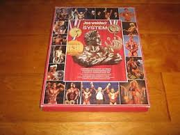 Joe Weider S Bodybuilding System Book And Charts Details About Joe Weider Bodybuilding Muscle System Box Set With Catalog And 9 Wall Charts