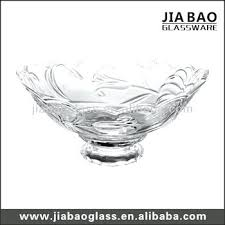 Large Bowl Display Stand Bowl With Stand Oval Glass Bowl With Black Wrought Iron Stand 97