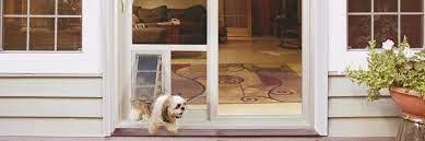 custom cat dog doors for patio slider