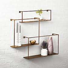Wall Mounted Shelves Modern Also Modern Wall Shelves