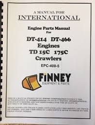 international td15c crawler dozer tractor engine parts manual book image is loading international td15c crawler dozer tractor engine parts manual
