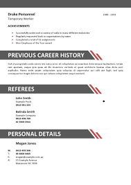 Resume Template For Hospitality Charming Hospitality Industry Resume Template Images Entry Level 11