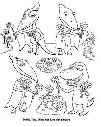 Small Picture dinosaur train coloring pages Pinteres