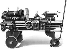 page title the leblond portable engine lathe was made in 15 17 and 19 swing versions and advertised as being suitable for use in railway workshops arsenals and