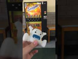 Snapple Vending Machine Classy A Video Where I Throw A Yeti At A Snapple Vending Machine YouTube