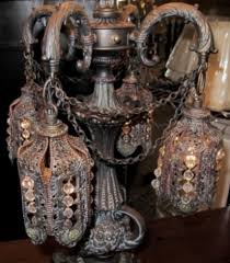 antique victorian lamp with gothic moroccan design antique table lamps
