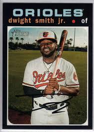 Amazon.com: Baseball MLB 2020 Topps Heritage #434 Dwight Smith Jr. SP  Orioles: Collectibles & Fine Art