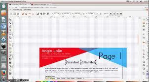 inkscape beginner tutorial editing a document cv curriculum inkscape beginner tutorial editing a document cv curriculum vitae reacutesumeacute text