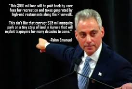 Waste Openlineblog The This In com Emanuel Like Rahm Grant Chicago Obama Riveredge Aurora For Million not Mosquito Park 100 Explains Ain't Loan Riverwalk; Gives 25