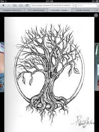 Tree Tattoo No Circle For My Upper Thigh Tree Tattoo More Roots
