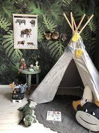 Toffe Speelkamer In Jungle Stijl Klein En Stoer