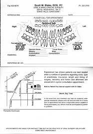 dental referral form template referring doctors idaho falls id