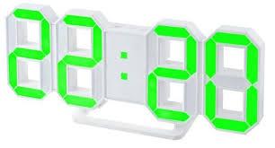 """Купить <b>Часы</b> будильник <b>Perfeo</b> """"<b>LUMINOUS</b>"""", белый корпус ..."""