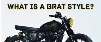 what are brat style motorcycles