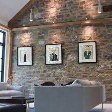 brick wall hang pictures hang logic