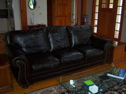 Richard's Santa Fe Leather Sofa by LeatherTrend - P534