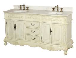 Concept Antique White Bathroom Cabinets Double Sink Vanity I Inside Inspiration Decorating