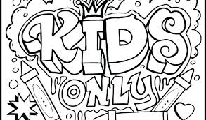 Fun Coloring Pages For Middle School Students Bltidm