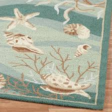 unique seafoam area rug seas hand hooked rugs