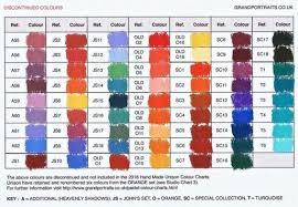 Pastel Color Code Chart Pastel Colour Charts Grandportraits