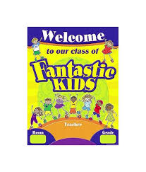 Teacher Created Fantastic Resources Kids Welcome Chart 7729