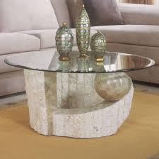 stone pedestal coffee tables coffee table design ideas