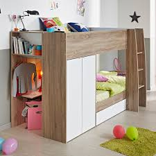 bunk beds with storage. Plain Bunk Modern Loft Bunk Bed With Storage Throughout Beds T