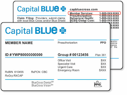 Bcbs prefix is a three character prefixes followed by the id number except for the following products and programs. Capital Bluecross