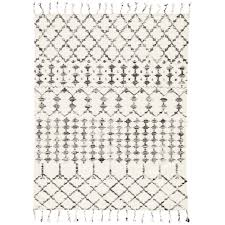 black and white tribal rug eclecticgoods com
