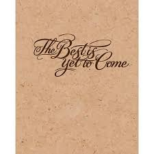 The Best Is Yet To Come Corkbord Background Inspiration Notebook Dot Grid Journal Blank Notebook No Lined Graph Paper 8 X 10 120 Page