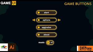 Game Menu Ui Design Android Game Menu Design