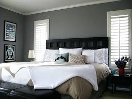 wall colors for black furniture. Wonderful Colors Bedroom With Black Furniture Gray Colors  Beige Walls Wall For