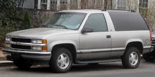 File:Chevrolet Tahoe 2-door.jpg - Wikimedia Commons