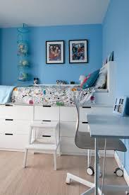 Ikea Hack children's cabin bed and DIY MDF Desk on Ikea legs