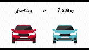 Auto Leasing Vs Buying